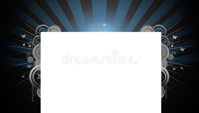 Diseño del fondo del Web site de las vigas stock de ilustración