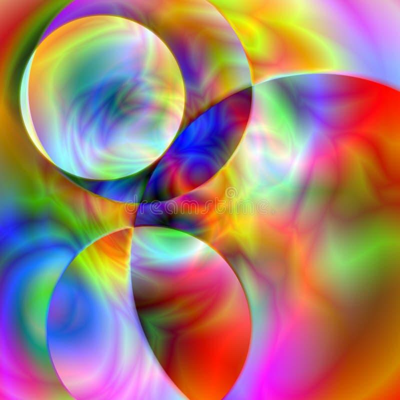 Diseño del fractal ilustración del vector