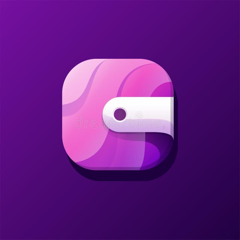 Diseño del icono de Afolder listo para utilizar stock de ilustración