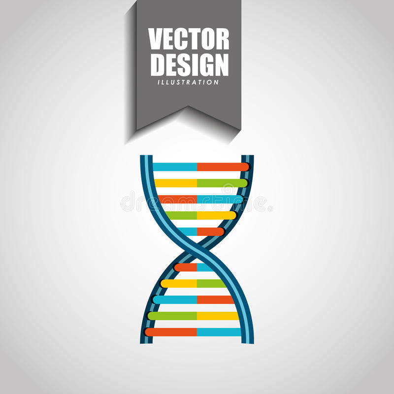 Diseño del icono de la ciencia ilustración del vector