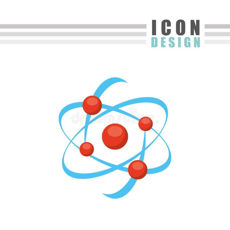 Diseño del icono de la ciencia libre illustration