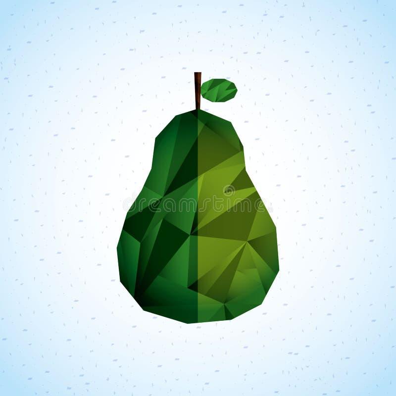 Diseño del icono de la fruta ilustración del vector