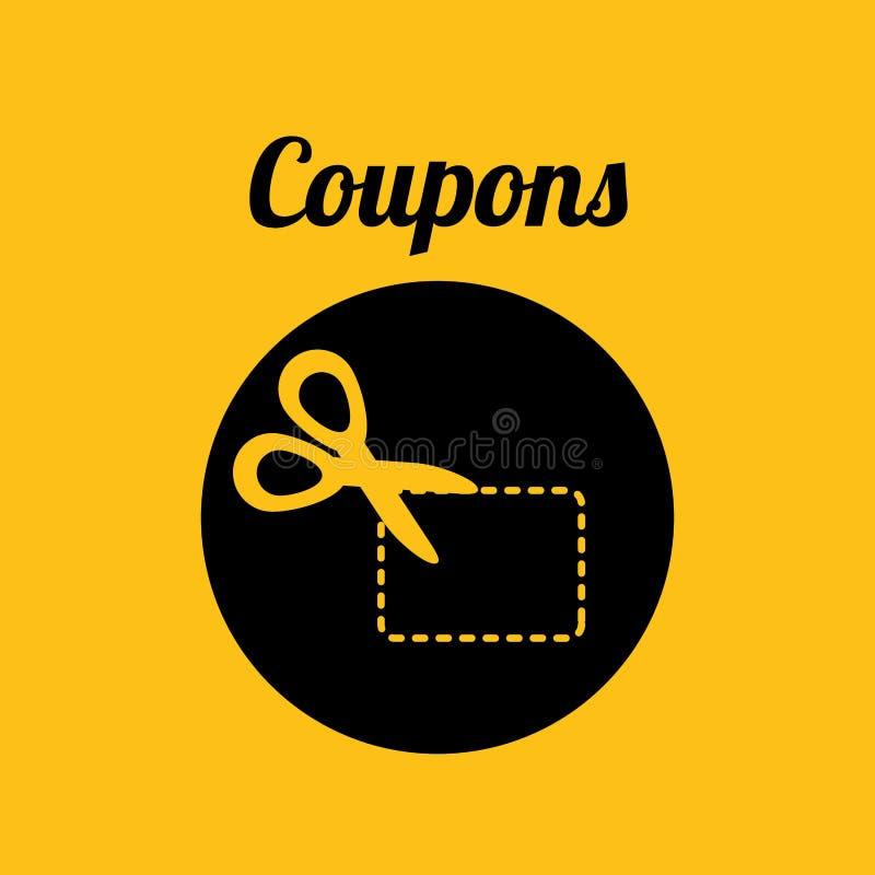 Diseño del icono de las compras libre illustration