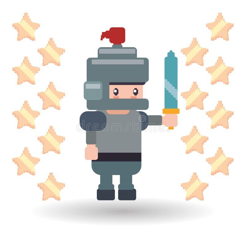 Diseño del icono del videojuego ilustración del vector