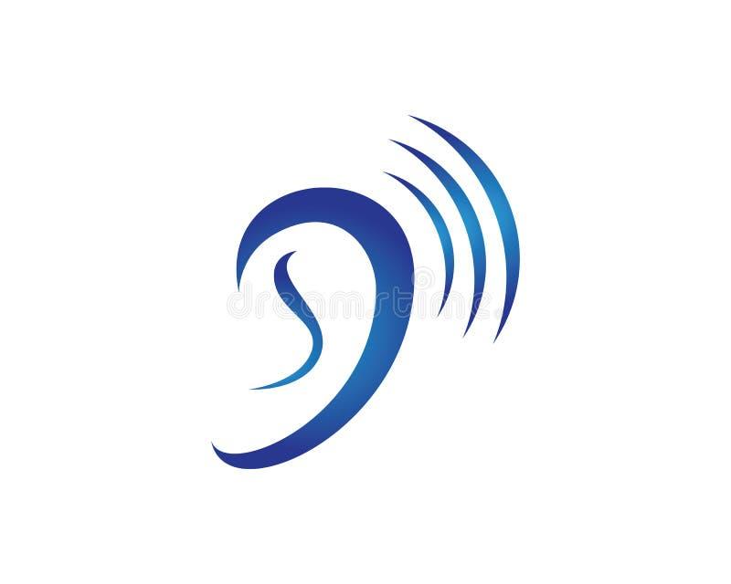 Diseño del icono del vector de Logo Template de la audiencia ilustración del vector