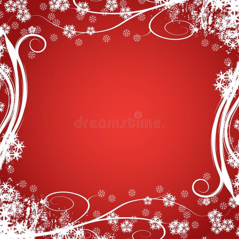Diseño del invierno stock de ilustración