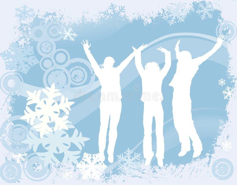 Diseño del invierno libre illustration