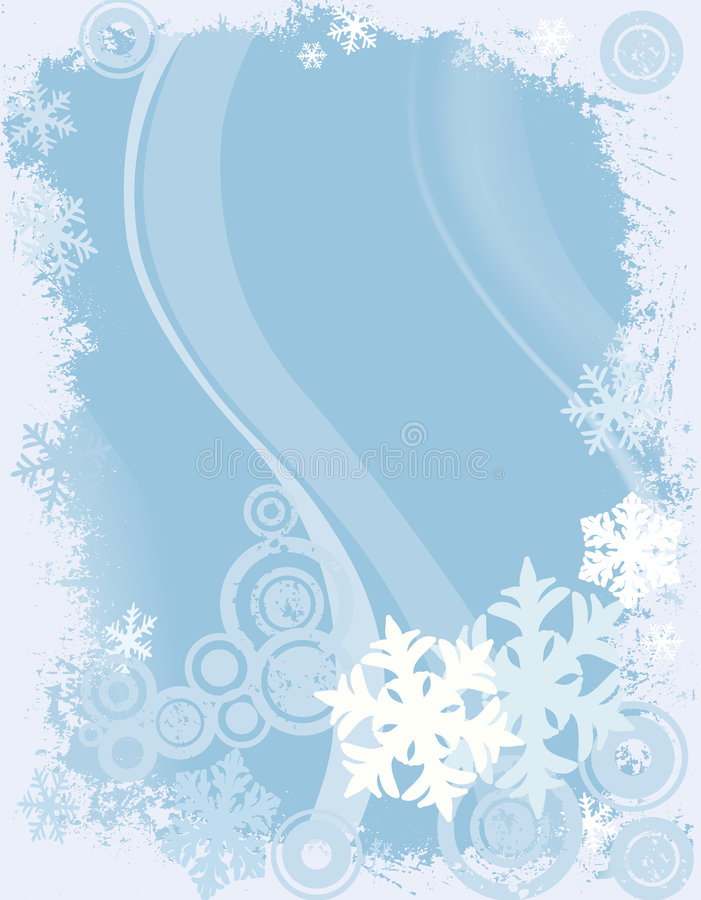 Diseño del invierno ilustración del vector