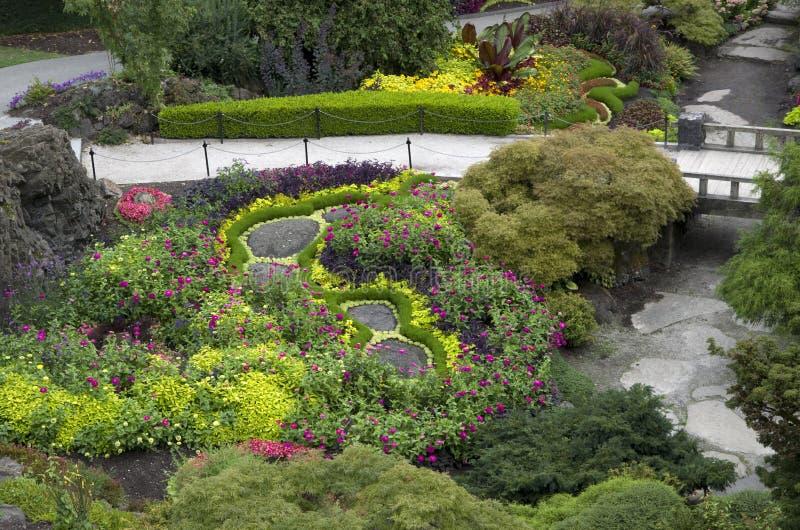 Diseño del jardín fotos de archivo