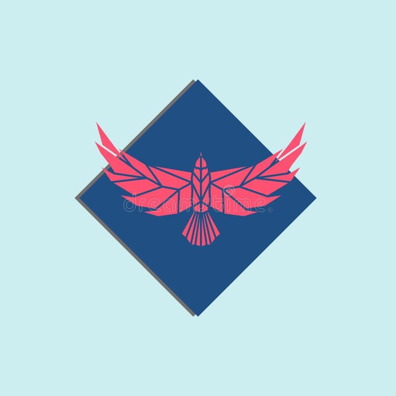 Diseño del logotipo de Eagle stock de ilustración