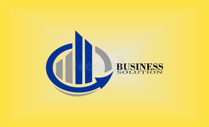 diseño del logotipo de la contabilidad libre illustration