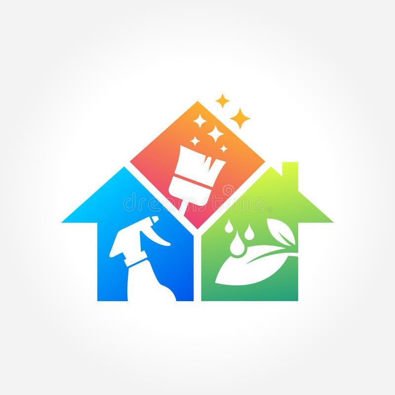 Dise o del logotipo de la empresa de servicios de la - Imagenes de limpieza de casas ...