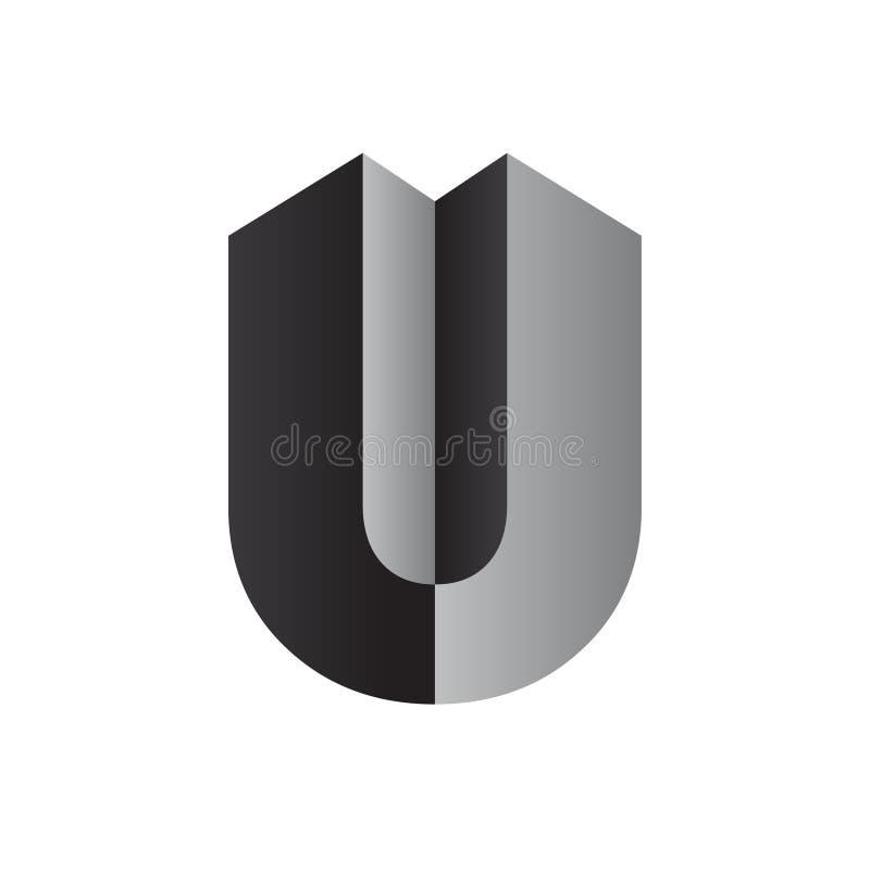 Diseño del logotipo de la letra imagenes de archivo