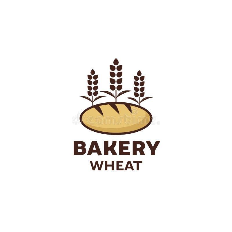 Diseño del logotipo de la panadería, calidad superior, estilo del vintage libre illustration