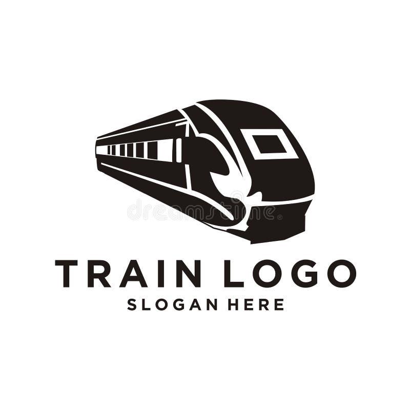Diseño del logotipo del tren libre illustration