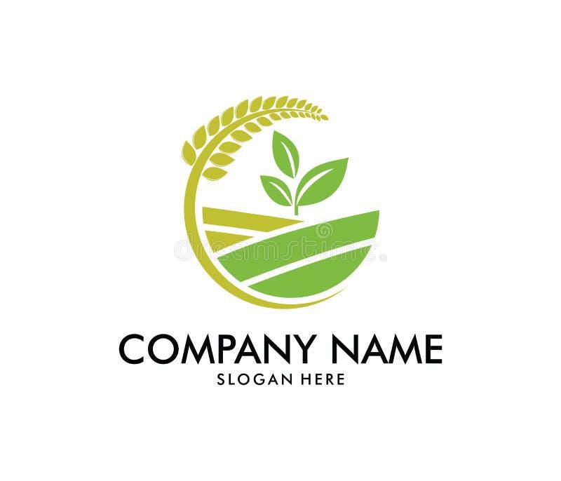 Diseño Del Logotipo Del Vector Para La Agricultura, Agronomía ...