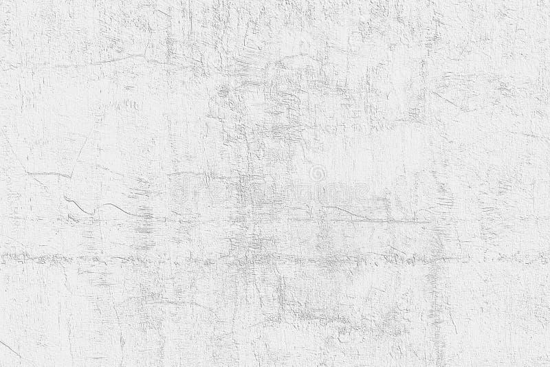 Diseño del modelo de la pared del cemento blanco para el fondo y la textura foto de archivo libre de regalías