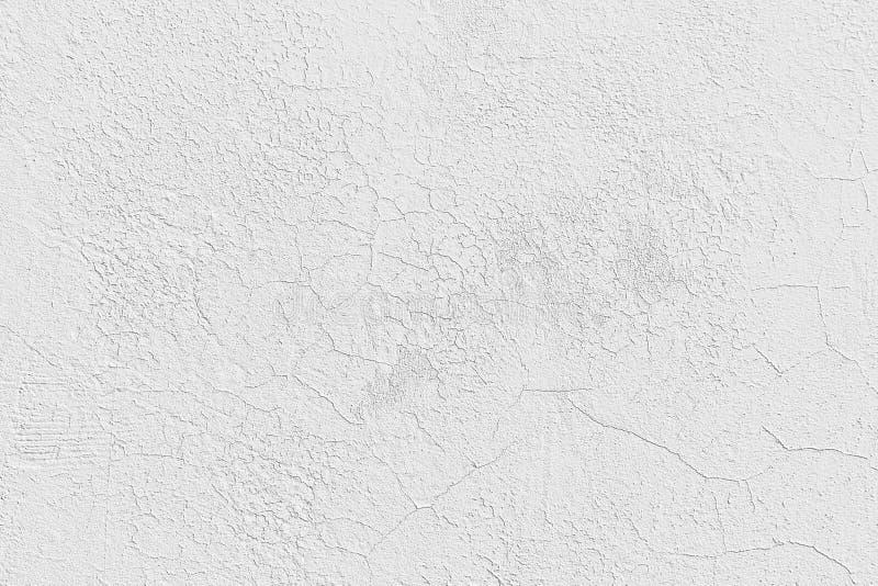 Diseño del modelo de la pared del cemento blanco para el fondo y la textura fotos de archivo libres de regalías