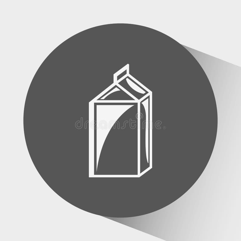 diseño del producto lácteo libre illustration