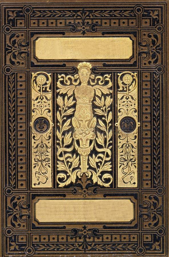 diseño del Retro-estilo para el libro foto de archivo