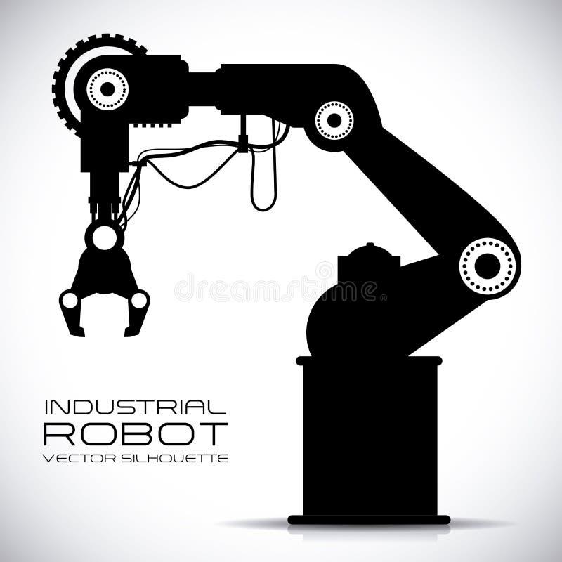 Diseño del robot stock de ilustración