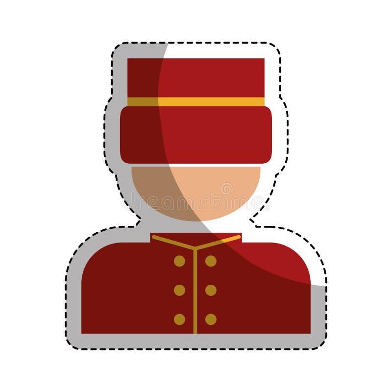 Diseño del servicio de hotel libre illustration