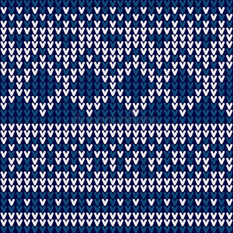 Diseño del suéter de la Navidad ilustración del vector