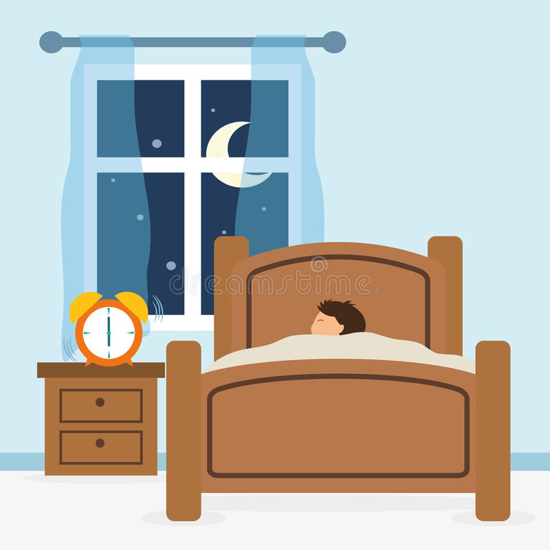 Diseño del sueño ilustración del vector