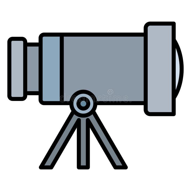 Diseño del telescopio espacial libre illustration
