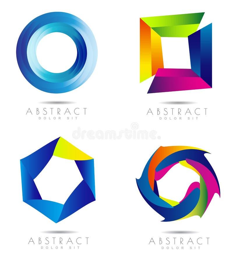 Diseño del vector de Corporate Logo ilustración del vector