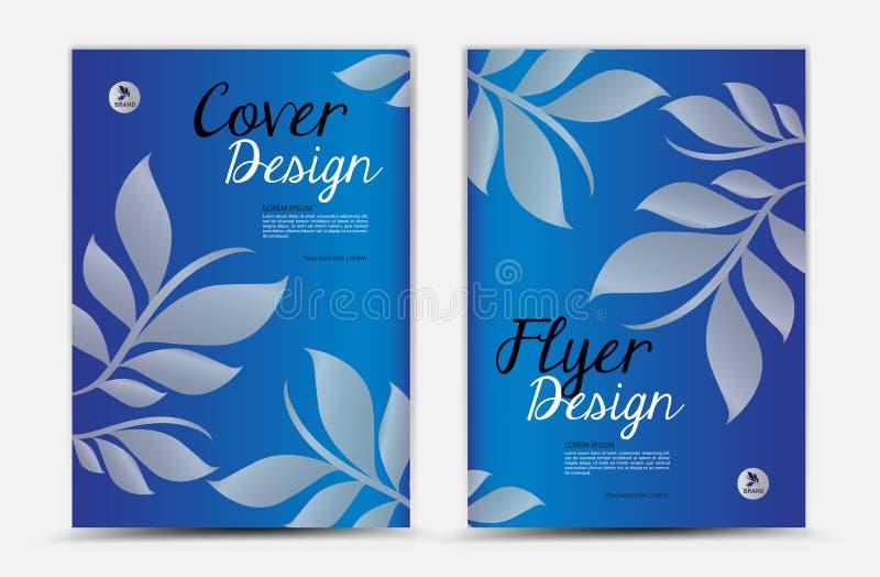 diseño del vector del diseño de la cubierta del informe anual, aviador del folleto, anuncio del mgazine, anuncio, disposición de  libre illustration