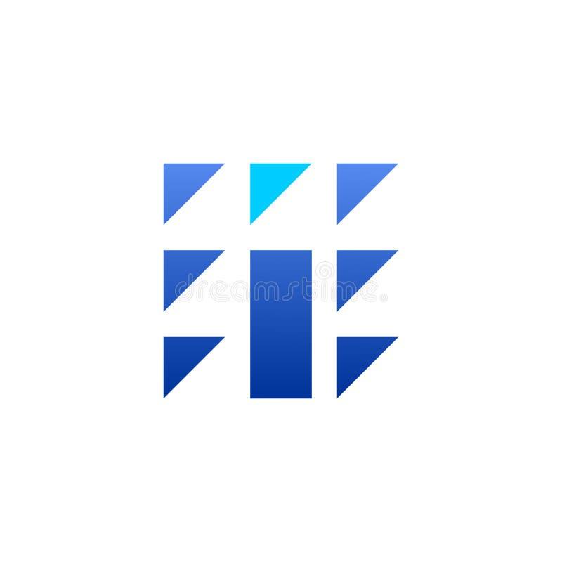Diseño del vector de la tecnología del icono las TIC stock de ilustración