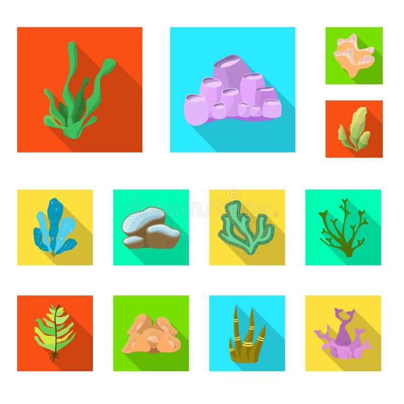 Diseño del vector de muestra de la biodiversidad y de la naturaleza Fije de biodiversidad y del símbolo común de la fauna para la ilustración del vector