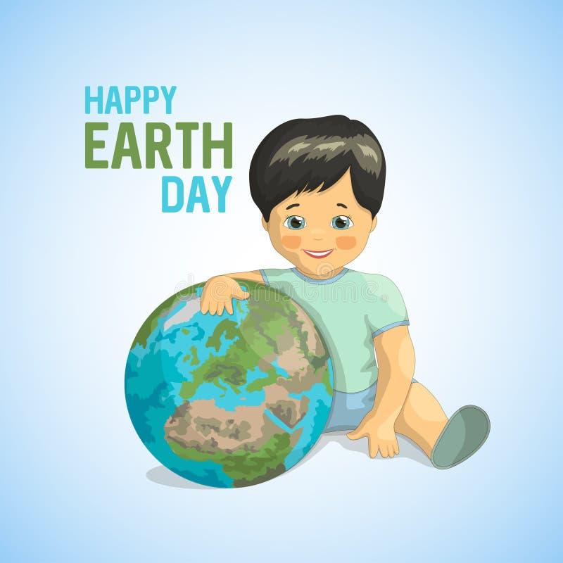 Diseño del vector del día del ambiente mundial ilustración del vector