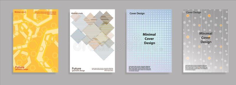Diseño del vector del folleto del negocio de la cubierta del aviador, prospecto que hace publicidad del fondo abstracto, disposic fotos de archivo libres de regalías
