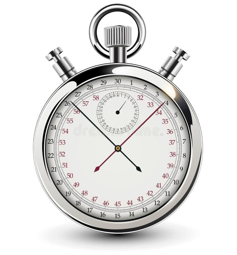 Diseño del vintage del cronómetro libre illustration