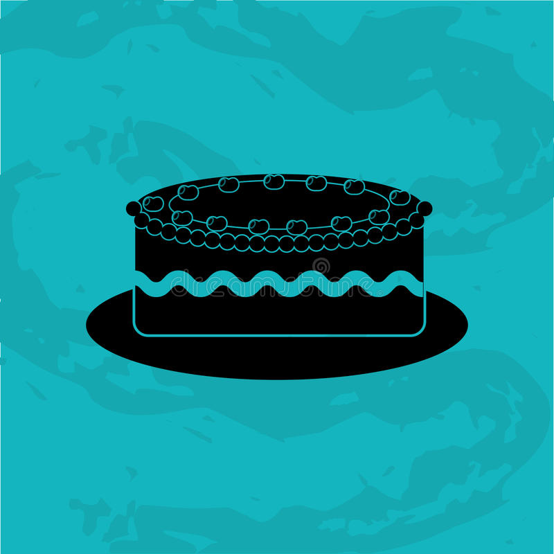 diseño delicioso de la tienda de pasteles libre illustration