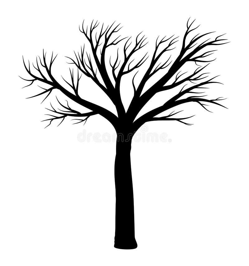 Diseño Desnudo Del Icono Del Símbolo Del Vector Del árbol ...