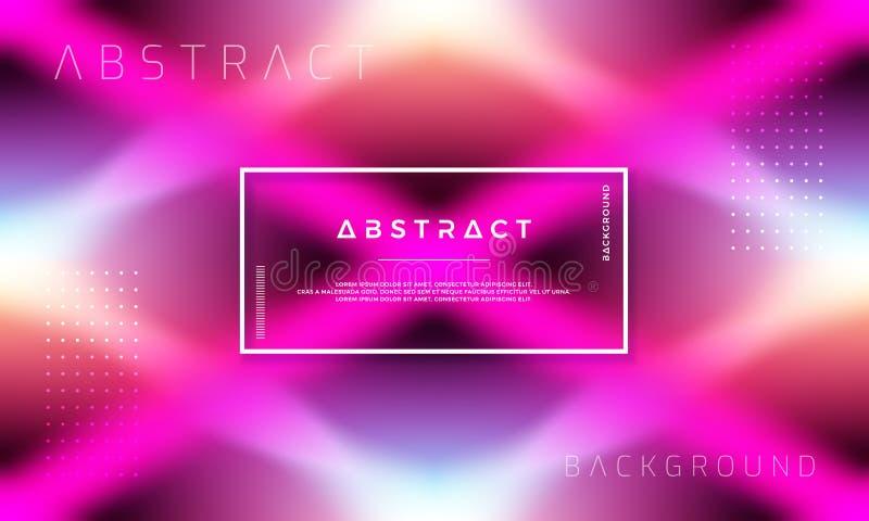 Diseño dinámico abstracto del fondo con formas coloridas de la pendiente stock de ilustración