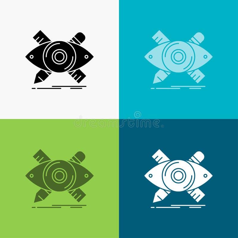 diseño, diseñador, ejemplo, bosquejo, icono de las herramientas sobre diverso fondo dise?o del estilo del glyph, dise?ado para el ilustración del vector