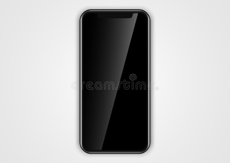 Diseño En Blanco Del Marco Del Teléfono Para La Interfaz De Usuario ...
