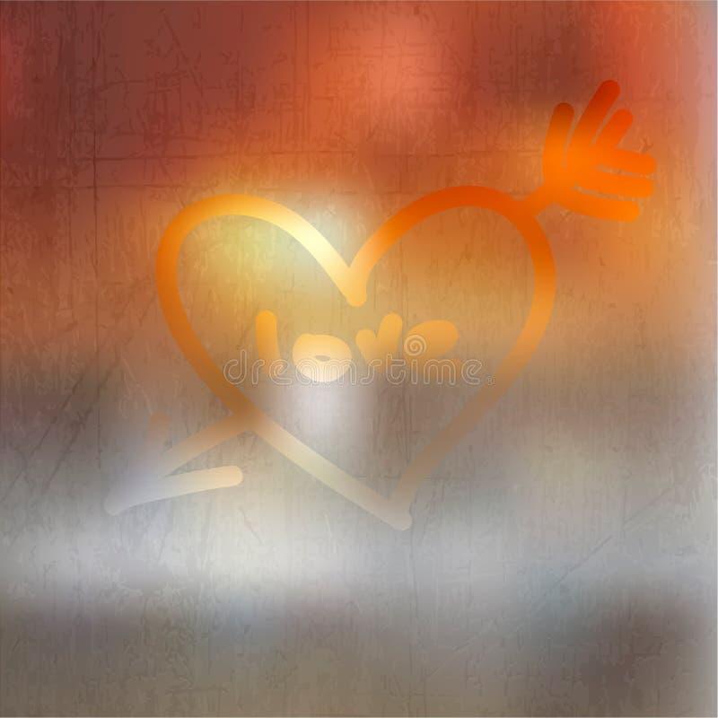 Diseño feliz del día de tarjeta del día de San Valentín. libre illustration