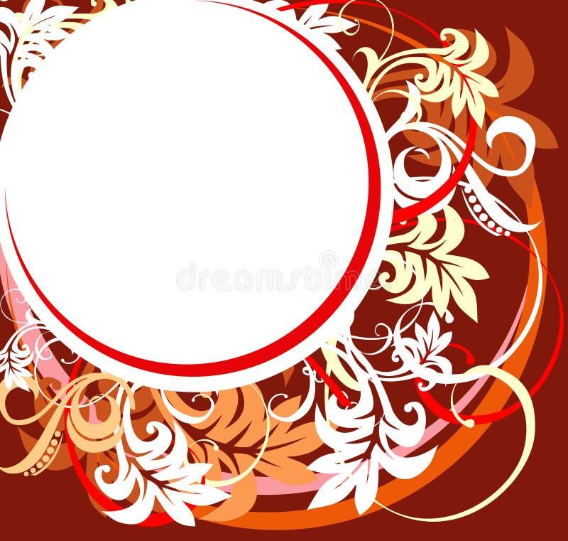 Diseño floral abstracto. Vector ilustración del vector