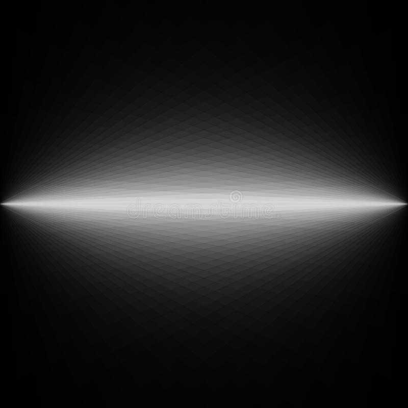 Diseño futurista blanco y negro oscuro abstracto del fondo ilustración del vector