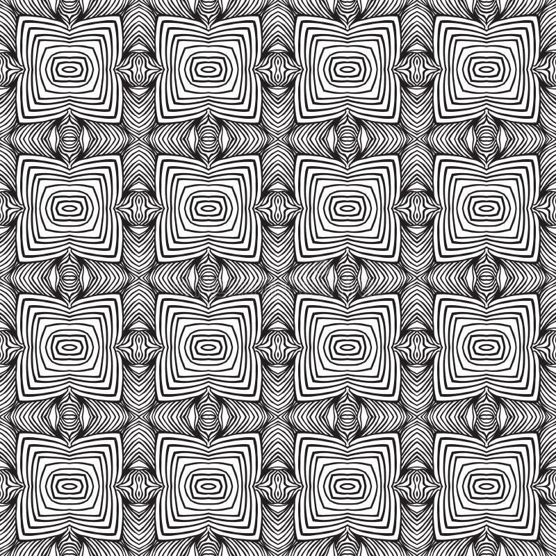 Dise o geom trico del papel pintado de los a os 60 ilustraci n del vector ilustraci n de - Papel pintado anos 60 ...