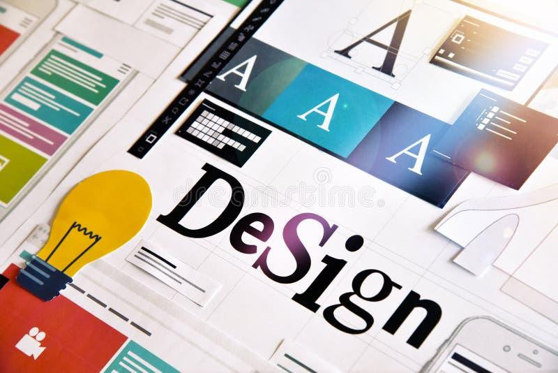 Diseño gráfico imagen de archivo libre de regalías