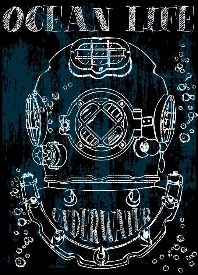 Diseño gráfico de la camiseta libre illustration