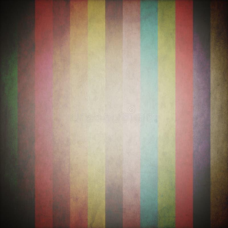 Diseño gráfico (Pantone) o (fondo del cartel del vintage) fotografía de archivo libre de regalías