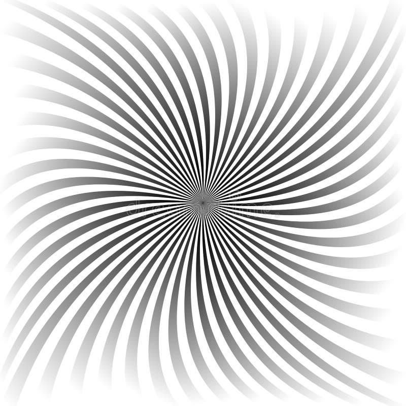 Diseño gris del fondo del espiral de la pendiente libre illustration
