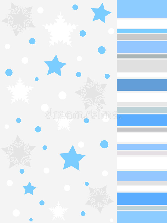 Diseño gris del invierno ilustración del vector